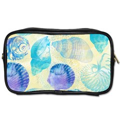 Seashells Toiletries Bags 2 Side