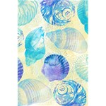 Seashells 5.5  x 8.5  Notebooks Back Cover Inside