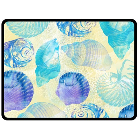Seashells Fleece Blanket (Large)