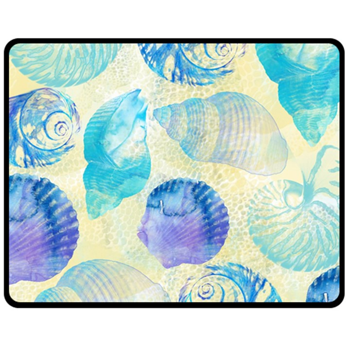 Seashells Fleece Blanket (Medium)