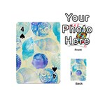 Seashells Playing Cards 54 (Mini)  Front - Spade4