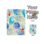 Seashells Playing Cards 54 (Mini)  Front - HeartQ