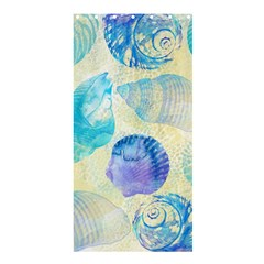 Seashells Shower Curtain 36  x 72  (Stall)