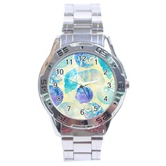 Seashells Stainless Steel Analogue Watch