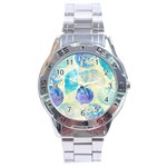 Seashells Stainless Steel Analogue Watch Front