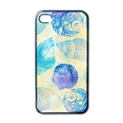 Seashells Apple iPhone 4 Case (Black)