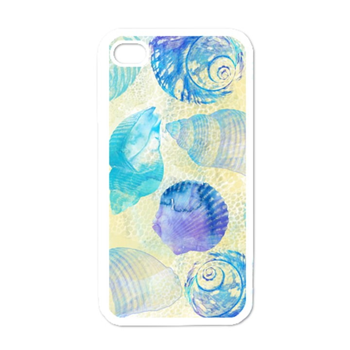 Seashells Apple iPhone 4 Case (White)
