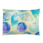 Seashells Pillow Case (Two Sides) Back