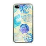 Seashells Apple iPhone 4 Case (Clear) Front