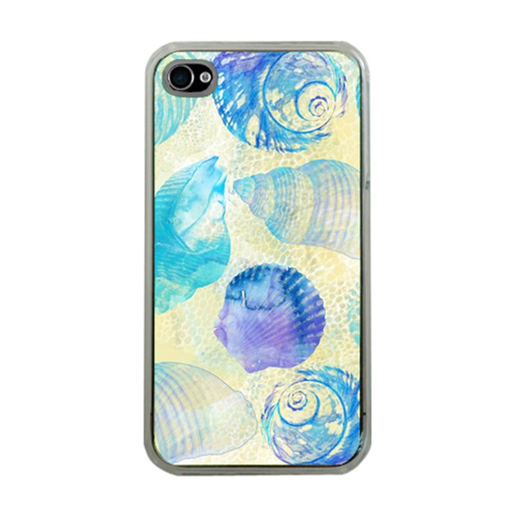 Seashells Apple iPhone 4 Case (Clear)