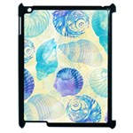 Seashells Apple iPad 2 Case (Black) Front