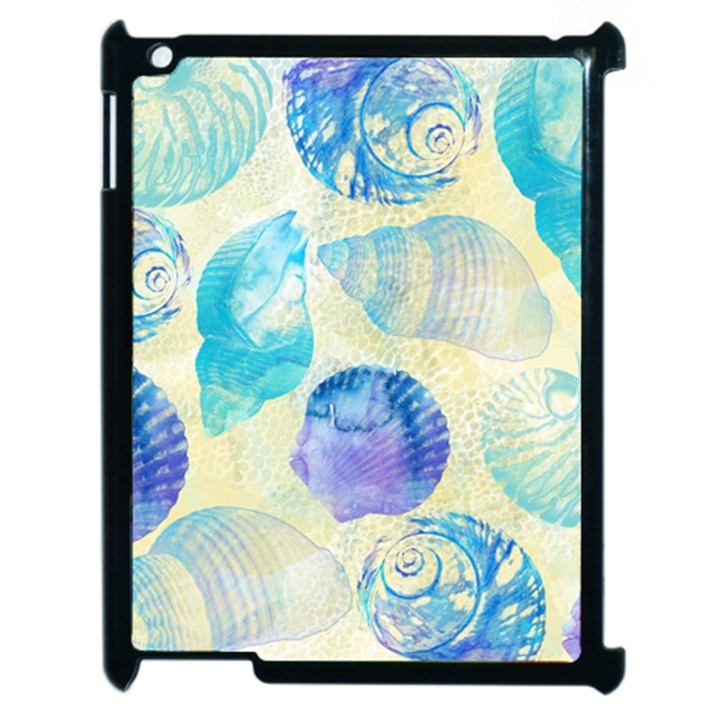 Seashells Apple iPad 2 Case (Black)