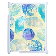 Seashells Apple iPad 2 Case (White)