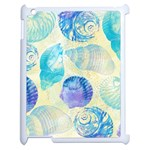 Seashells Apple iPad 2 Case (White) Front