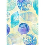 Seashells Circle Bottom 3D Greeting Card (7x5) Inside