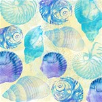 Seashells BELIEVE 3D Greeting Card (8x4) Inside