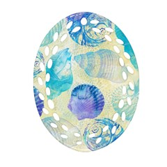 Seashells Ornament (oval Filigree)