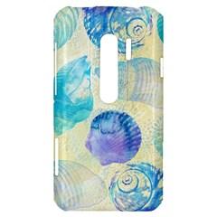 Seashells HTC Evo 3D Hardshell Case