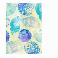 Seashells Large Garden Flag (Two Sides)