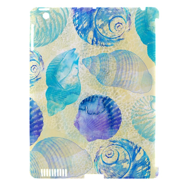 Seashells Apple iPad 3/4 Hardshell Case (Compatible with Smart Cover)