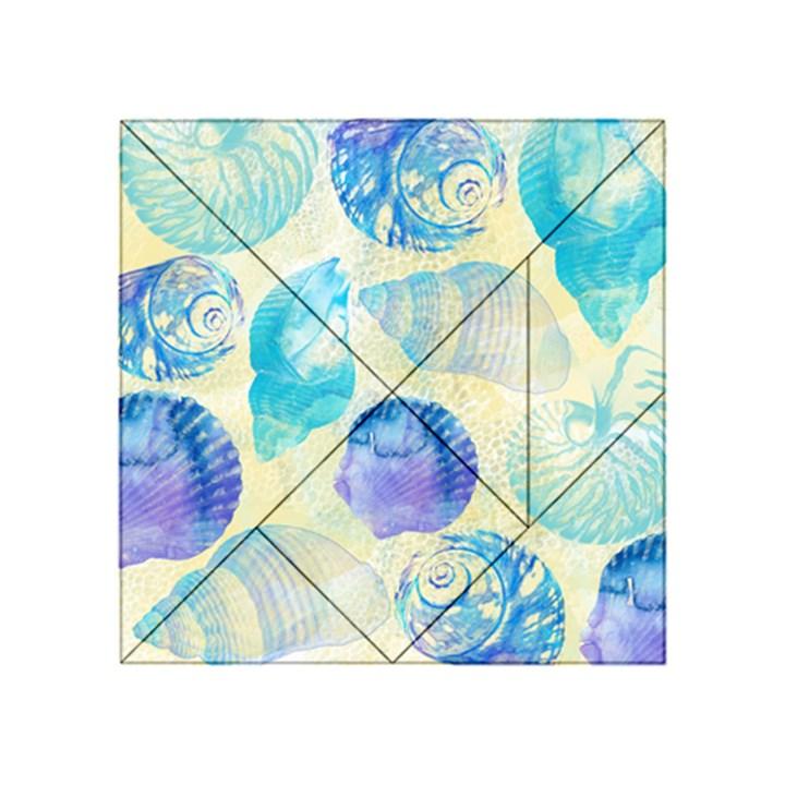 Seashells Acrylic Tangram Puzzle (4  x 4 )