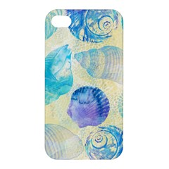 Seashells Apple iPhone 4/4S Premium Hardshell Case