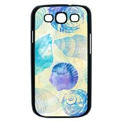 Seashells Samsung Galaxy S III Case (Black)