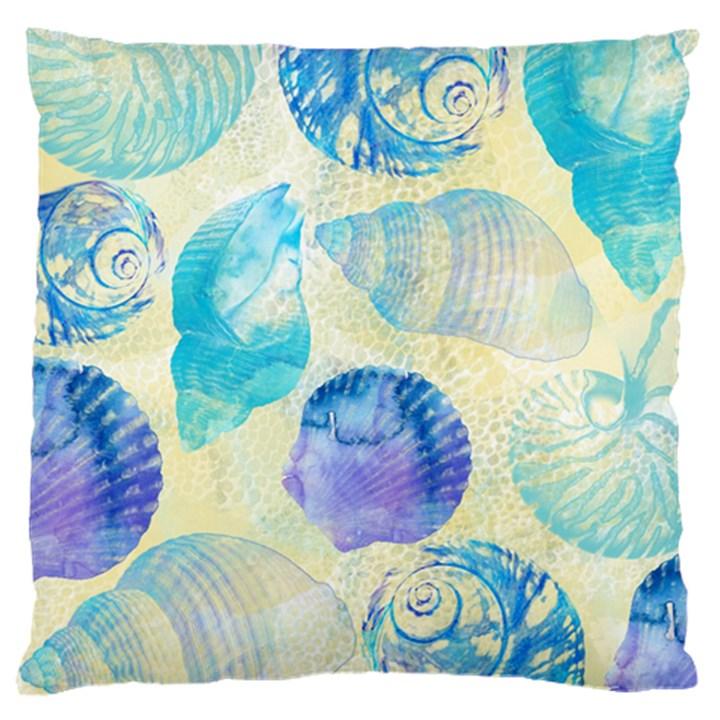 Seashells Large Cushion Case (One Side)