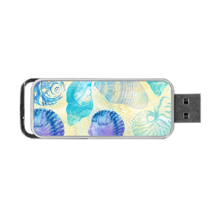 Seashells Portable USB Flash (Two Sides)