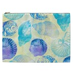 Seashells Cosmetic Bag (XXL)  Front