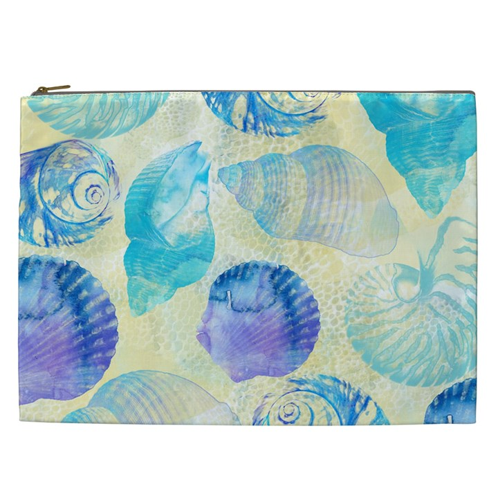 Seashells Cosmetic Bag (XXL)