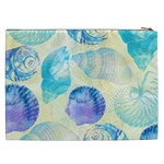 Seashells Cosmetic Bag (XXL)  Back