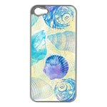 Seashells Apple iPhone 5 Case (Silver) Front