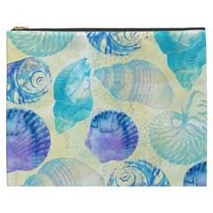 Seashells Cosmetic Bag (XXXL)