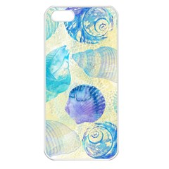 Seashells Apple iPhone 5 Seamless Case (White)