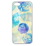 Seashells Apple Seamless iPhone 5 Case (Clear) Front