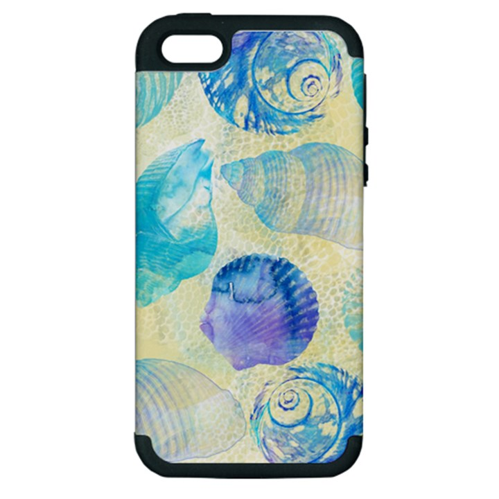 Seashells Apple iPhone 5 Hardshell Case (PC+Silicone)
