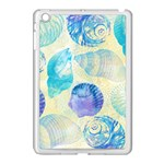 Seashells Apple iPad Mini Case (White) Front