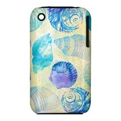 Seashells Apple iPhone 3G/3GS Hardshell Case (PC+Silicone)