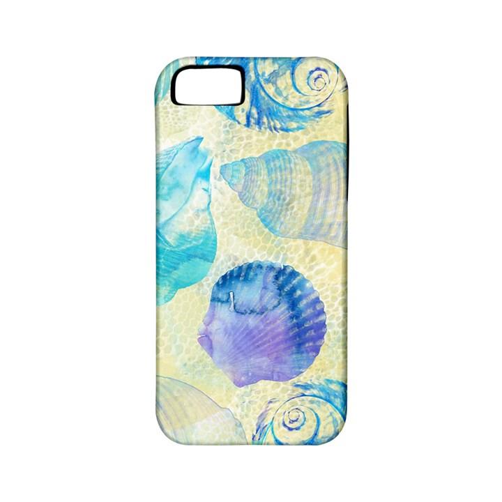 Seashells Apple iPhone 5 Classic Hardshell Case (PC+Silicone)