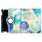 Seashells Apple iPad 2 Flip 360 Case Front