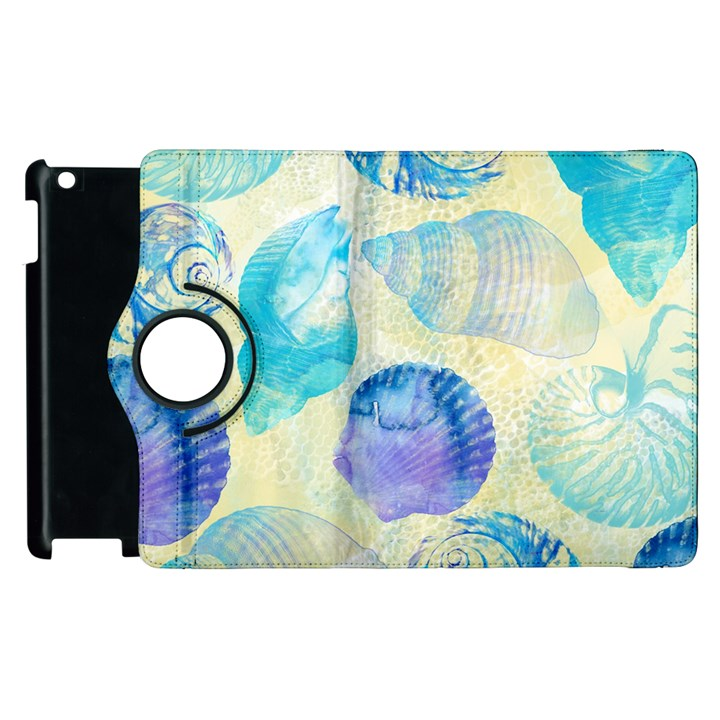Seashells Apple iPad 2 Flip 360 Case