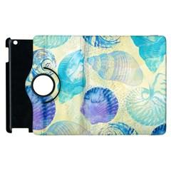 Seashells Apple iPad 3/4 Flip 360 Case