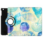 Seashells Apple iPad Mini Flip 360 Case Front