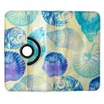 Seashells Samsung Galaxy Note II Flip 360 Case Front