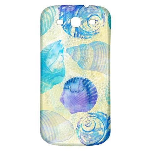 Seashells Samsung Galaxy S3 S III Classic Hardshell Back Case