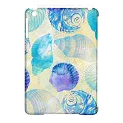 Seashells Apple iPad Mini Hardshell Case (Compatible with Smart Cover)
