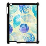 Seashells Apple iPad 3/4 Case (Black) Front