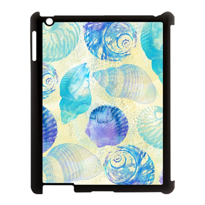 Seashells Apple iPad 3/4 Case (Black)