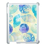 Seashells Apple iPad 3/4 Case (White) Front
